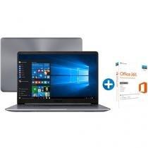 "Notebook Asus Vivobook  X510UA Intel Core i5 4GB - 1TB LED 15,6"" + Microsoft Office 365 Personal 1TB"