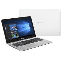 "Notebook Asus Z550MA-XX005T Branco, Intel Quad Core, HD 500GB, RAM 4GB, Tela LED 15,6"" - Windows 10 - Asus"