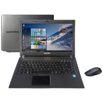 "Notebook Compaq Presario CQ23 Intel Dual Core - 4GB 500GB LED 14"" Windows 10 + Mouse Sem Fio"
