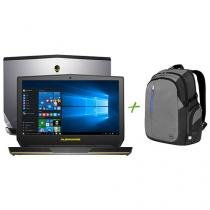 "Notebook Dell Alienware 15 AW-15R2-A10 Intel Core - i5 8GB 1TB LCD 15,6"" + Mochila para Notebooks"