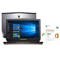 """Notebook Dell Alienware 15 AW-15R2-A10 Intel Core - i5 8GB 1TB LCD 15,6"""" + Office 365 Personal"""