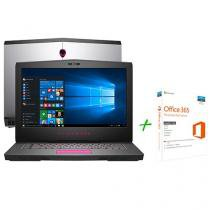 """Notebook Dell Alienware 15 AW-15R3-A20 Intel Core - i5 16GB 1TB LED 15,6"""" + Office 365 Personal"""