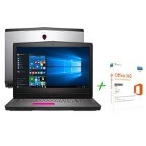 """Notebook Dell Alienware 17 AW-17R4-A20 Intel Core - i7 16GB 1TB Tela 17,3"""" + Office 365 Personal"""