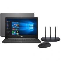 Notebook Dell Inspiron i15-3576-A70 Intel Core i7 - 8GB + Roteador Wireless Tp-link + Mouse Sem Fio