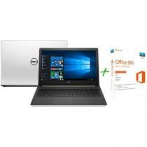 "Notebook Dell Inspiron I15-5558-A50 Intel Core i7 - 8GB 1TB LED 15,6"" + Office 365 Home 5 Licenças"