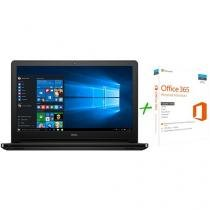 "Notebook Dell Inspiron i15-5566-A10P Intel Core i3 - 4GB 1TB LED 15,6""Windows 10 + Microsoft Office 365"