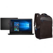 """Notebook Dell Inspiron i15-5566-A10P Intel Core i3 - 4GB 1TB LED 15,6"""" Windows 10 + Mochila"""