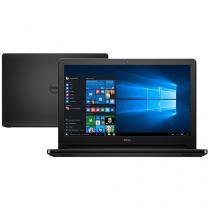 "Notebook Dell Inspiron i15-5566-A10P Intel Core i3 - 4GB 1TB LED 15,6"" Windows 10"