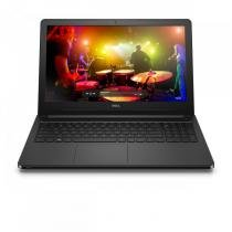 "Notebook Dell Inspiron i15-5566-U08P Intel Core i3 4GB 500GB Tela HD 15,6"" Linux Preto -"