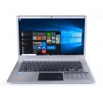 "Notebook Everex Intel Quad Core Z8350 Tela 14"" Led  2GB 32SSD Windows 10 - Prata - Everex computer"