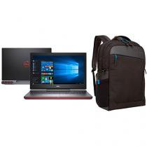 "Notebook Gamer Dell Inspiron i15-7567-A30P Intel  - Core i7 16GB 1TB LED 15,6"" GeForce GTX + Mochila"