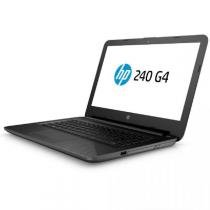 "Notebook HP 240 G4 , Preto, Tela de 14"", 4GB, I3, HD 500GB - Hp"