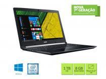 Notebook intel com teclado numerico acer nxgqbal004 a515-51-56k6 core i5 7200u 8gb 1tb win10 15.6 led -