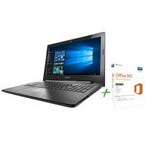 "Notebook Lenovo G50 Intel Core i5 8GB 1TB - LED 15,6"" Windows 10 + Office 365 Personal"