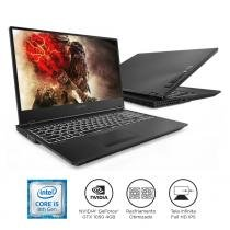 "Notebook Lenovo Gamer Legion Y530 i5-8300H 8GB 1TB GTX 1050 Windows 10 15.6"" FHD 81GT0000BR Preto -"