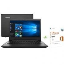 "Notebook Lenovo Ideapad 110 Intel Dual Core 4GB 1TB LED 15,6"" Windows 10 + Office 365 Personal"