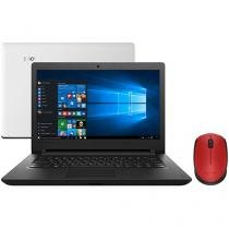 "Notebook Lenovo Ideapad 110 Intel Dual Core - 4GB 500GB LED 14"" + Mouse Sem Fio Laser 1000dpi"