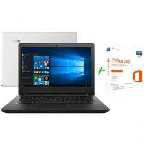 "Notebook Lenovo Ideapad 110 Intel Dual Core - 4GB 500GB LED 14"" + Office 365 Home 5 Licenças"