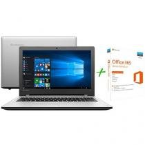"Notebook Lenovo Ideapad 300 Intel Core i5 - 4GB 1TB LED 15,6"" + Office 365 Home 5 Licenças"