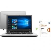 Notebook Lenovo Ideapad 300 Intel Core i5 - 6ª Geração 4GB 1TB + Office 365 Personal