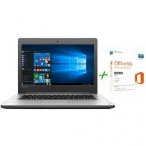 "Notebook Lenovo Ideapad 310 Intel Core i5 8GB 1TB - LED 15,6"" Windows 10 + Microsoft Office 365"