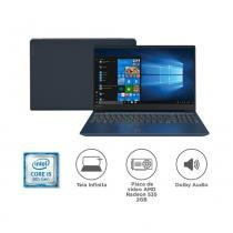 "Notebook Lenovo IdeaPad 330S i5-8250U 8GB 1TB Radeon 535 Windows 10 15.6"" HD 81JN0000BR Azul -"