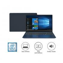 "Notebook Lenovo IdeaPad 330S i5-8250U 8GB 1TB Windows 10 14"" HD 81JM0000BR Azul -"