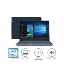 "Notebook Lenovo IdeaPad 330S i7-8550U 8GB 1TB Windows 10 14"" HD 81JM0003BR Azul -"