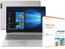 Notebook Lenovo Ideapad S145 Intel Core i7 8GB - 512GB SSD + Pacote Microsoft Office 365 Personal