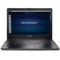 Notebook Multilaser Intel Celeron N3060 4GB HD 500GB, Linux Tela 14 Polegadas PC204 -