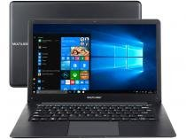 "Notebook Multilaser Legacy Cloud PC120  - Intel Quad Core 2GB SSD 32GB 14"" Windows 10 Home"