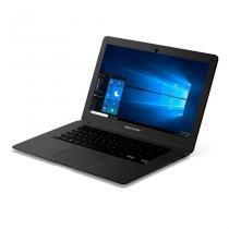 "Notebook Multilaser Legacy PC101 Processador Quad Core 2GB de RAM 32GB Windows 10 Tela 14"" Preto -"