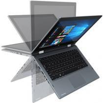 """Notebook Positivo Duo 4GB LCD 11,6"""" Windows 10 Cinza - Cinza -"""