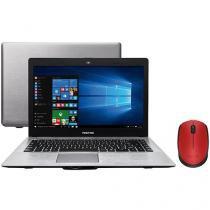 "Notebook Positivo Premium XR7556 Intel Core i3 - 4GB 500GB LED 14"" + Mouse Sem Fio Laser 1000dpi"