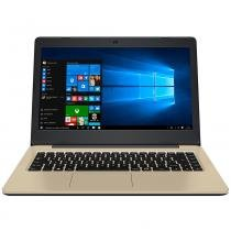 Notebook positivo stilo colors, processador intel atom, dourado - xc 3552 - Positivo