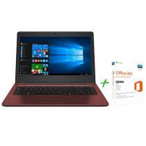 Notebook Positivo Stilo Colors XC3634 - Intel Dual Core 4GB 32GB + Office 365 Personal