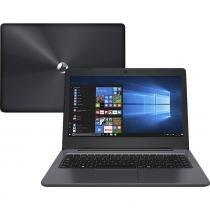 "Notebook Positivo Stilo One XC3550 Intel Atom 2GB 32GB Tela LCD 14"" Windows 10 - Cinza - Cinza -"