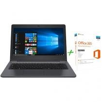 "Notebook Positivo Stilo XC7660 Intel Core i3 4GB - 1TB LED 14"" Windows 10 + Microsoft Office 365"