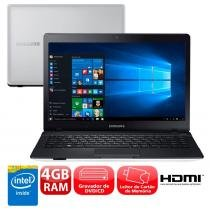 Notebook samsung essentials e21 370e4k-kavwb com intel dual core, 4gb, 500gb, grador de dvd, leitor de cartões, hdmi, bluetooth, led 14 -