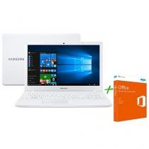Notebook Samsung Essentials E21 Intel Dual Core - 4GB 500GB + Office Home and Student 2016