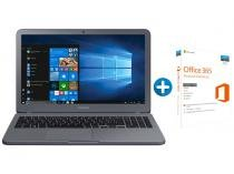 "Notebook Samsung Expert X50 Intel Core i7 8GB 1TB - LED 15,6"" Full HD + Microsoft Office 365 Personal"
