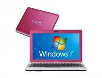 """Notebook Sony Vaio VPC-YB45JB Rosa Tela LED 116"""" HD - OT - Sony"""