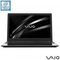 """Notebook Vaio Fit 15s 15.6"""" Core I3 2.4ghz 4gb Hd1tb Alphan - Preta -"""