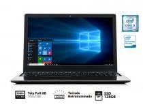 Notebook Vaio FIT 15S I3-6006U 4GB 128GB SSD 15.6 FHD W10 SL - VJF154F11X-B0811B -