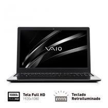 """Notebook Vaio Fit 15S Intel Core i5 8GB 1TB Tela LED 15,6"""" Full HD Win 10  VJF155F11XB0411B - VAIO"""