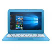 "NotebookHP Intel Celeron N3060 1.6GHz, 4GB Ram, SSD 32GB, Win10,11.6"" - Y010NR Azul -"