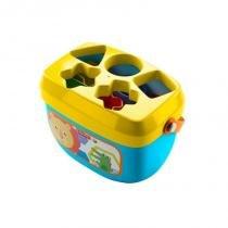 Novo Balde Primeiros Blocos Fisher Price - Mattel FGP10 -