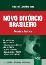 Novo Divorcio Brasileiro - Teoria e Pratica - Jurua editora -