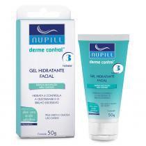 Nupill Gel Hidratante Facial Derme Control - 50g - Nupill