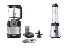 Nutri Ninja Revolution + Liquidificador Sport Blender Electrolux -